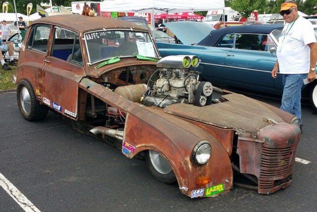 Barn Find Funny Car: 1949 Triumph Mayflower