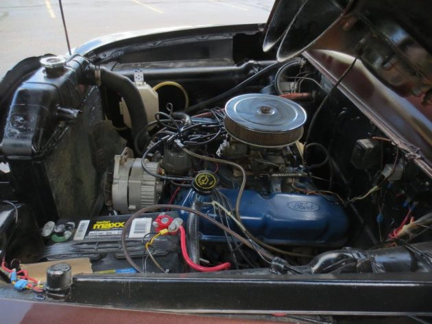 1951 Ford Engine