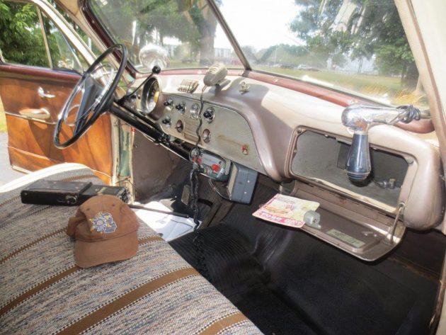 1951 Ford Interior
