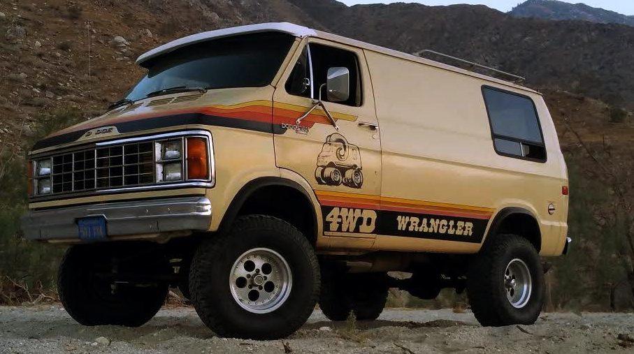 4X4 Van For Sale >> One Of 700 1979 Dodge Wrangler 4x4 Van
