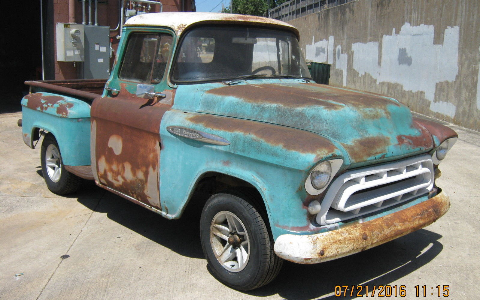 Not So Perfect Patina 1957 Chevrolet 3100 Chevy 4 Door Truck