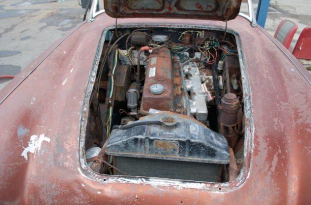 1959 Austin Healey 100-6 Engine
