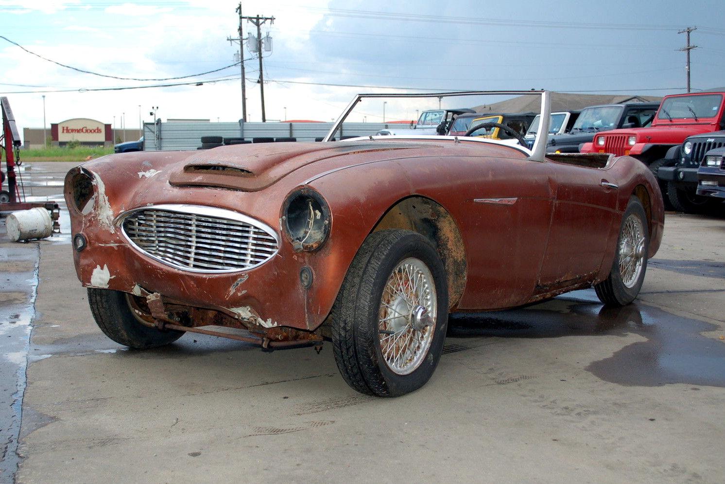Austin Healey For Sale >> Big Project: 1959 Austin-Healey 100/6