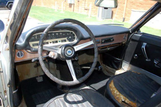 1963 Lancia Flavia Interior