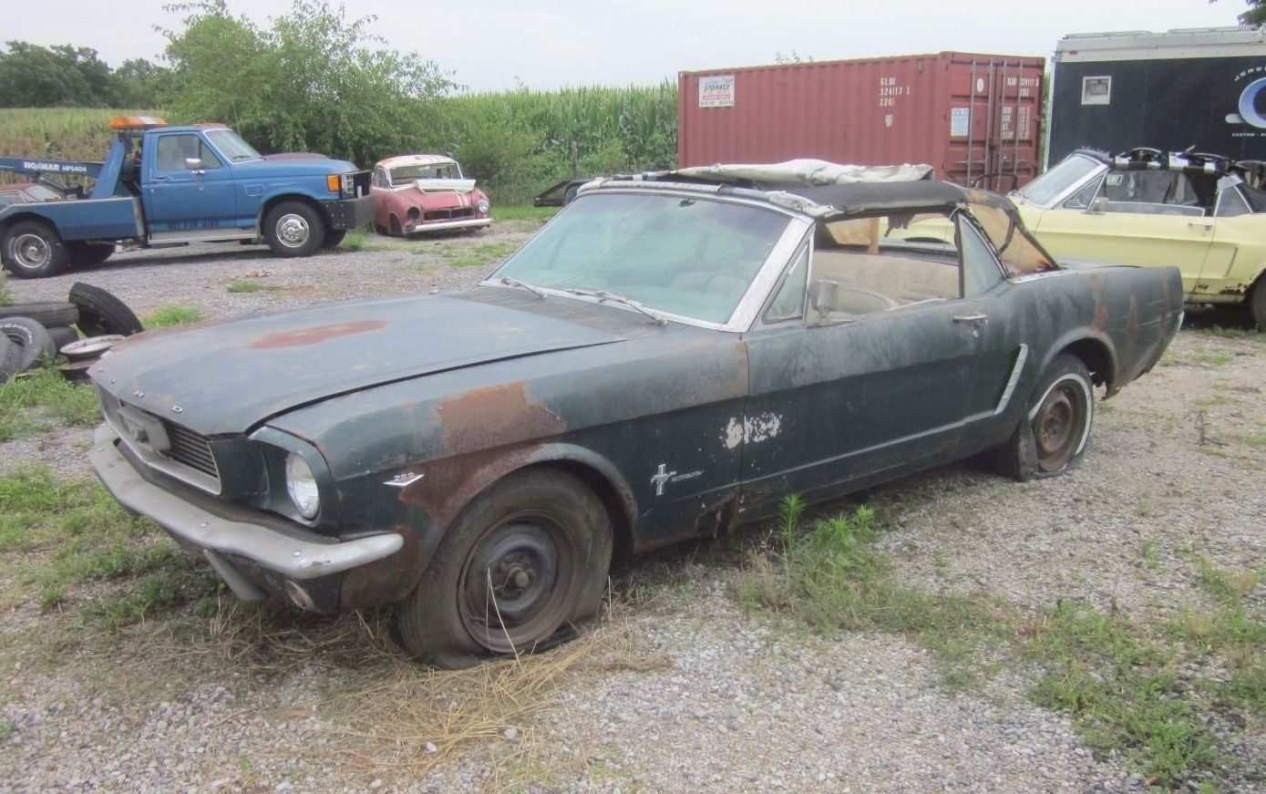 Cars For Sale In Iowa >> Early Rustang: 1964.5 Mustang Convertible!