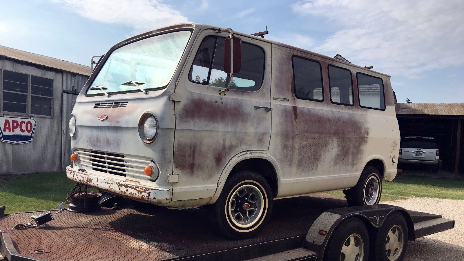 Flat Window Van: 1964 Chevrolet G20