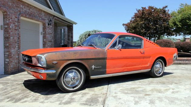 1965 Ford Mustang Damage