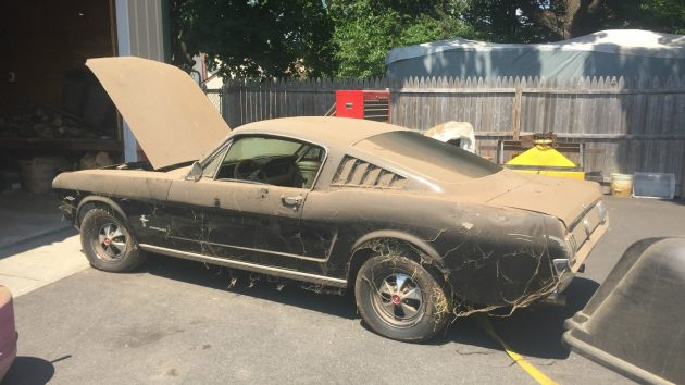 One Dusty Pony: 1965 Mustang Fastback