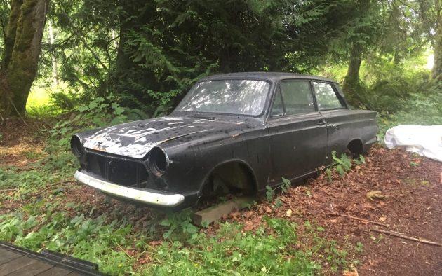 1966 Cortina Shell