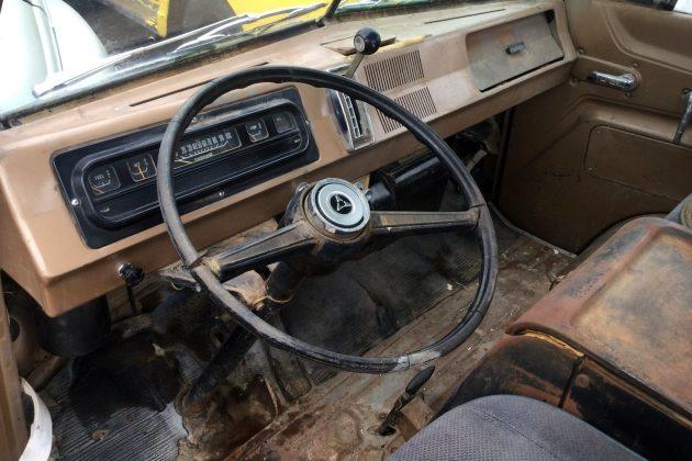 1966 Dodge A100 Interior