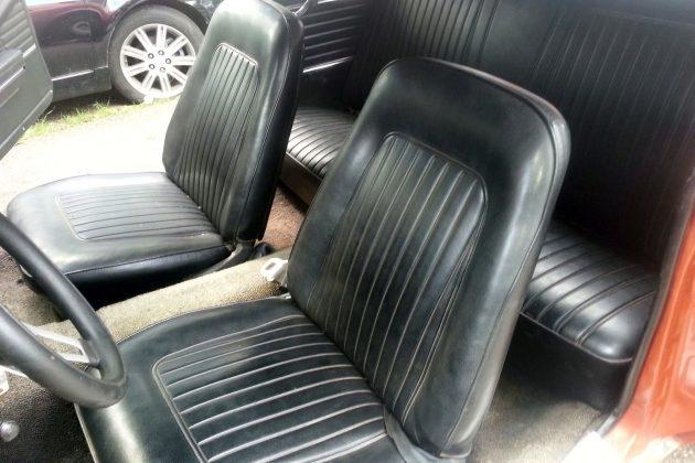 1968 Camaro Z28 Interior