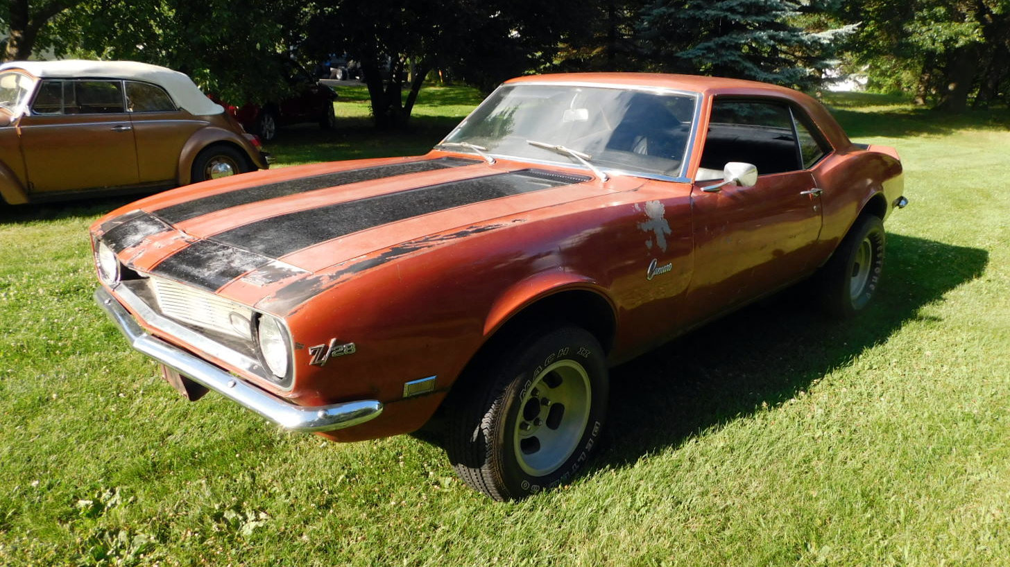unrestored 1968 camaro z 28. Black Bedroom Furniture Sets. Home Design Ideas