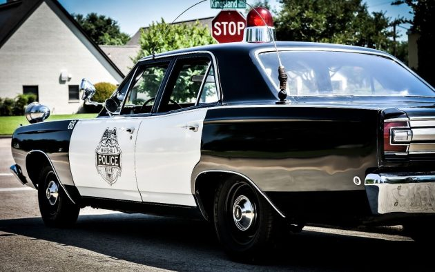 1968 Plymouth Satellite Police Car