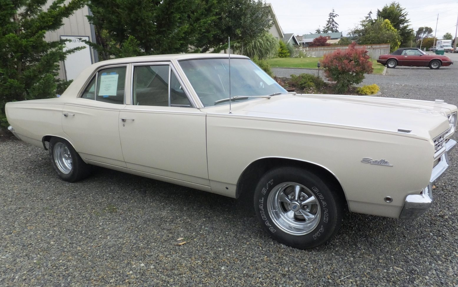 Bf Exclusive 1968 Plymouth Satellite