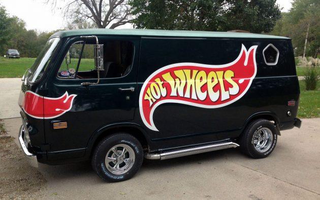 "Custom 1969 GMC ""Hot Wheels"" Van"