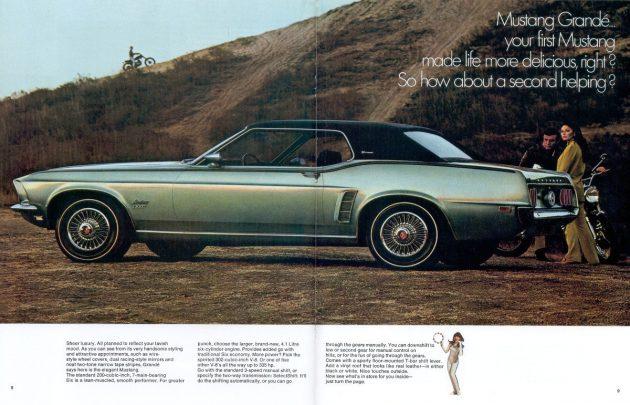 1969 Mustang Grande Ad