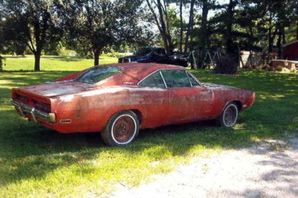 Burnt Orange: 1970 Dodge Charger