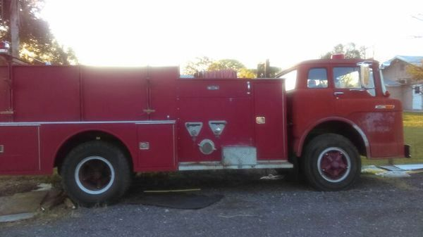 Firetrucks barn finds bf exclusive 1970 ford firetruck publicscrutiny Choice Image