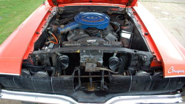 1970 Mercury Cougar 351 4V Engine