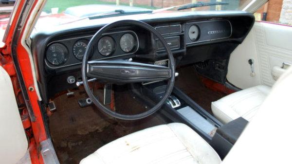 1970 Mercury Cougar Interior