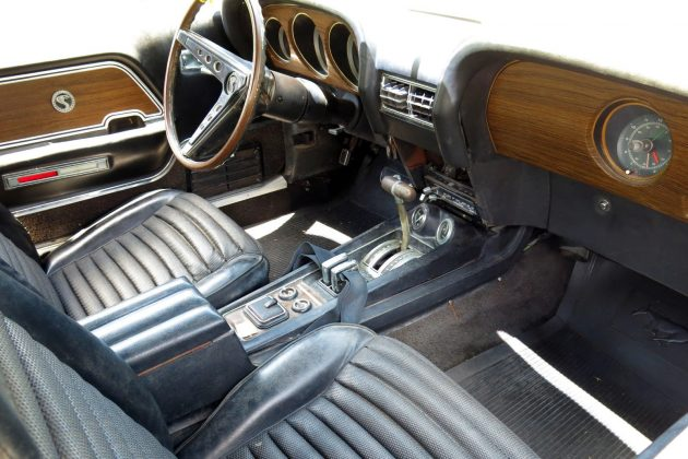 1970 Shelby GT 500 Interior