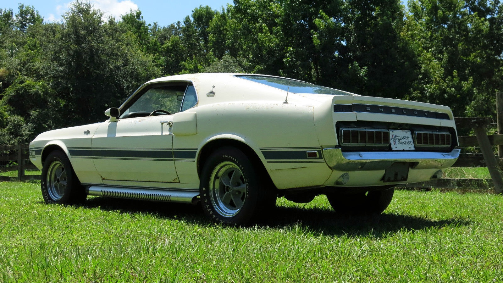 Hot Side Pipes 1970 Shelby Gt 500