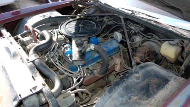1971 Cadillac Eldorado Engine