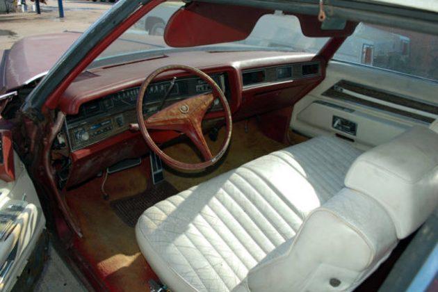 1971 Cadillac Eldorado Interior