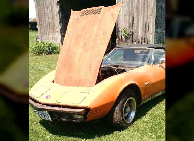 1973 Corvette L82 Barn Find