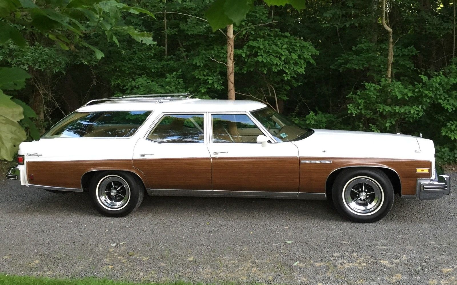 Clam Shell 1976 Buick Estate Wagon