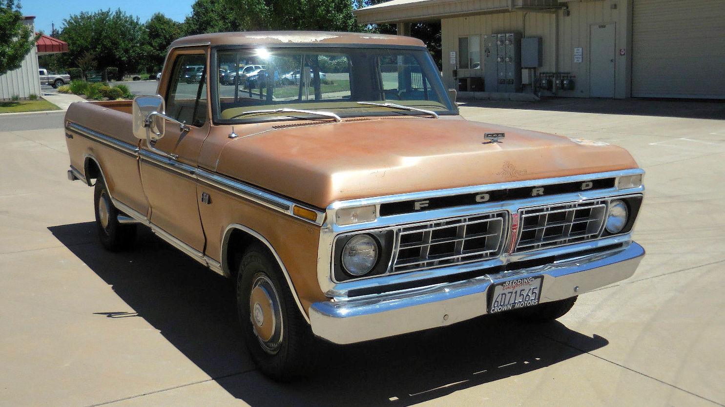 California Export 1976 Ford F 150 Ranger Xlt
