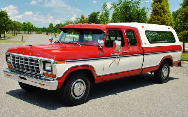 3 944 Original Miles 1979 Ford F 250 Custom Camper