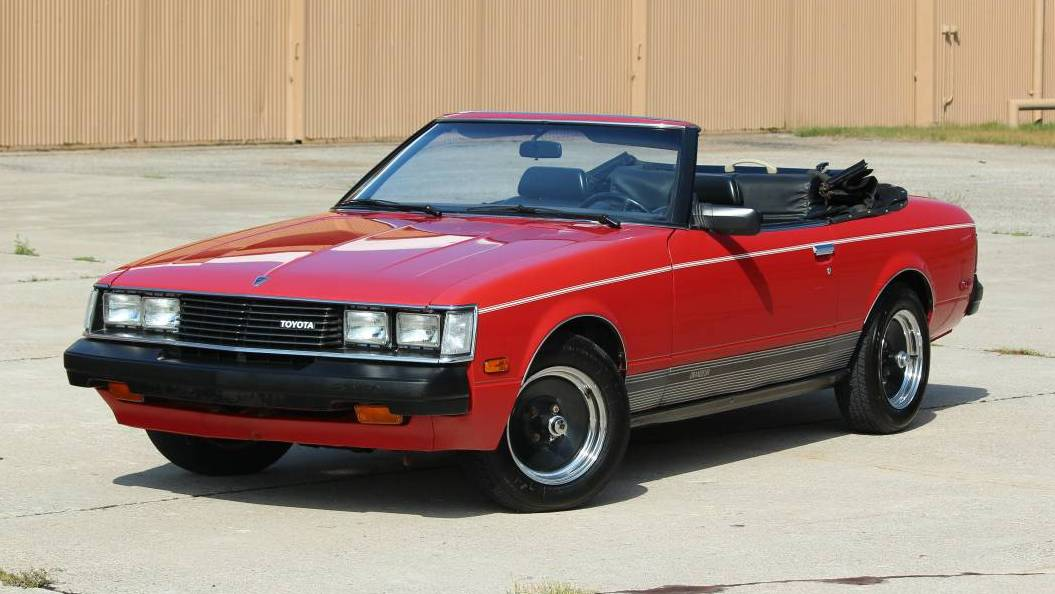Convertible Conversion 1981 Toyota Celica