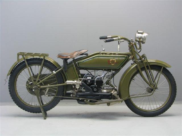 Harley Davidson: Three Owner V-twin: 1913 Harley-Davidson 9E