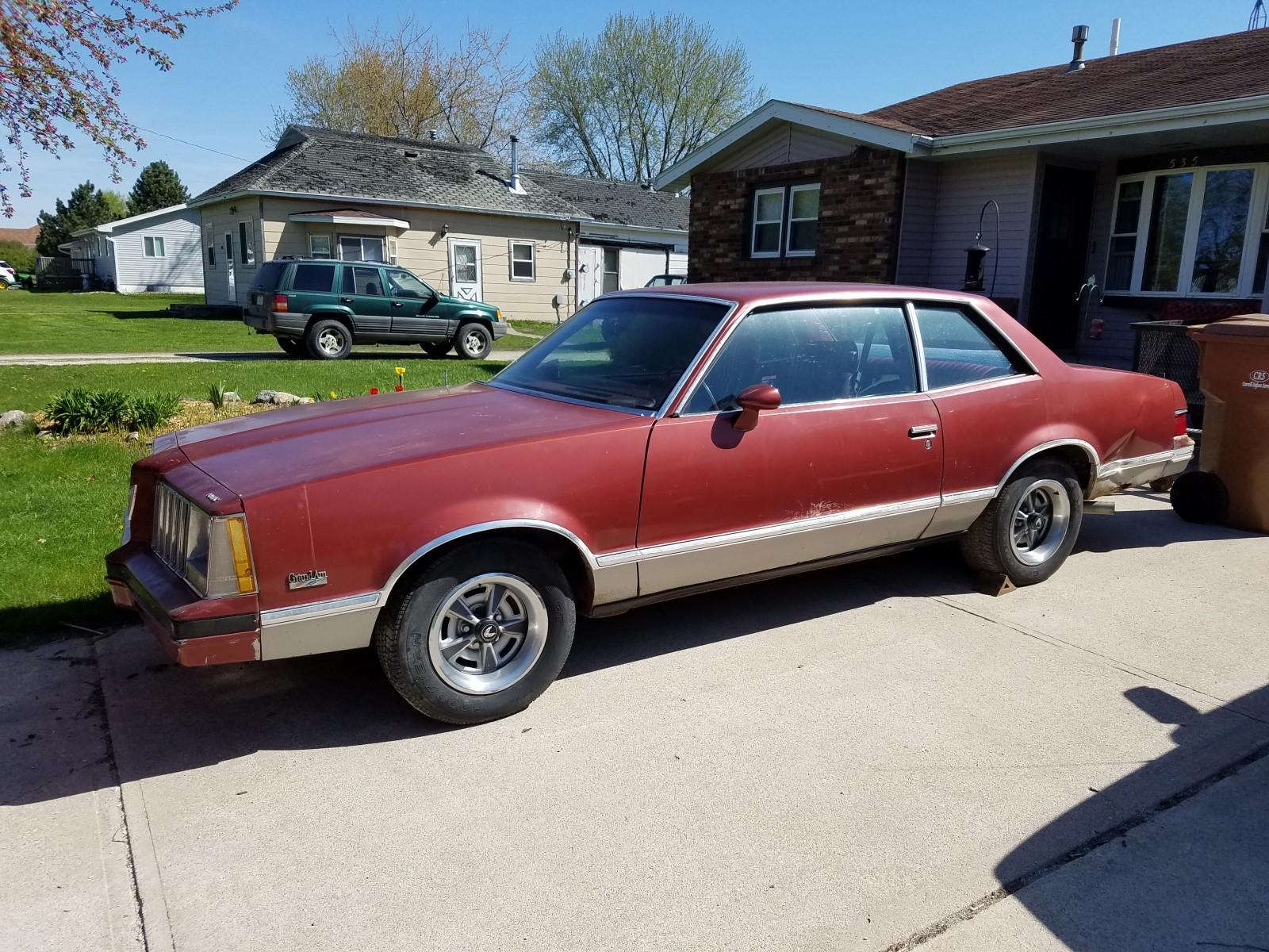 Red Barn Auction >> Factory Hurst 4-Speed: 1979 Pontiac Grand Am