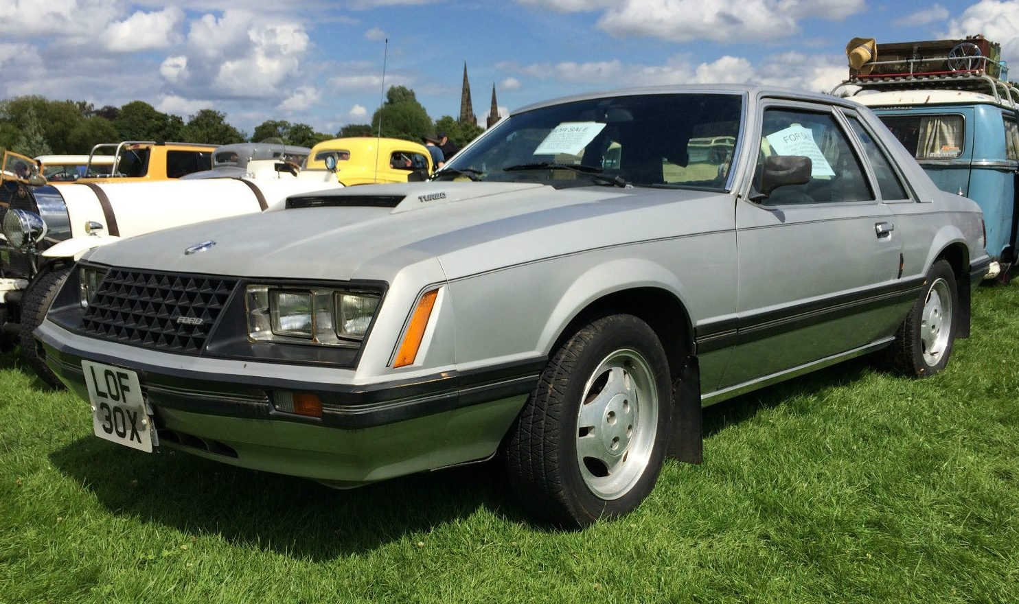 Local Car Auctions >> RHD 'Stang: 1981 Ford Mustang Ghia