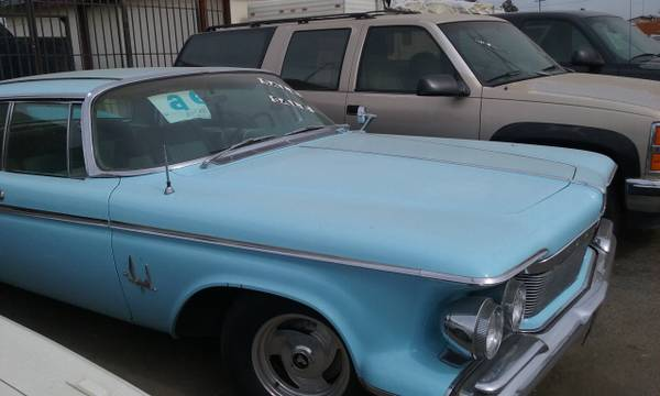 Possibly Celebrity Owned 1961 Chrysler Imperial