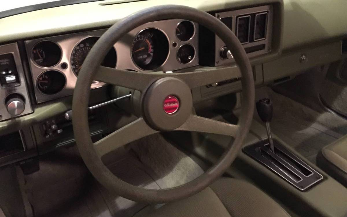 1979 Camaro Berlinetta With Only 7k Miles!