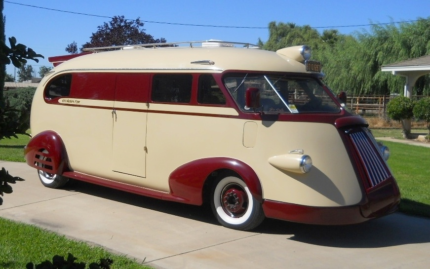 Rv Campers For Sale >> Crazy Custom RV: 1941 Western Flyer