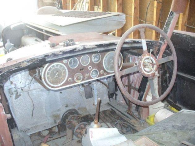 Four Spoke Steering Wheel