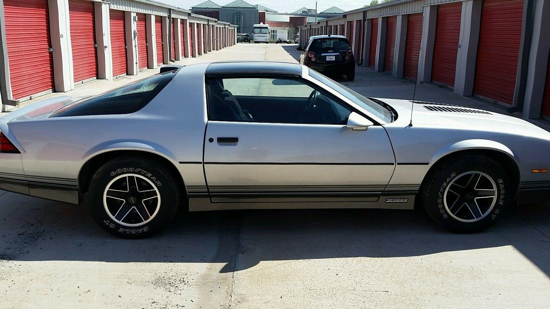 Original Tires 1986 Chevrolet Camaro Z28