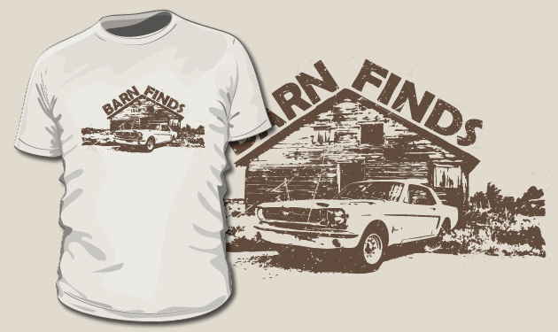 Rally Mustang T-Shirt