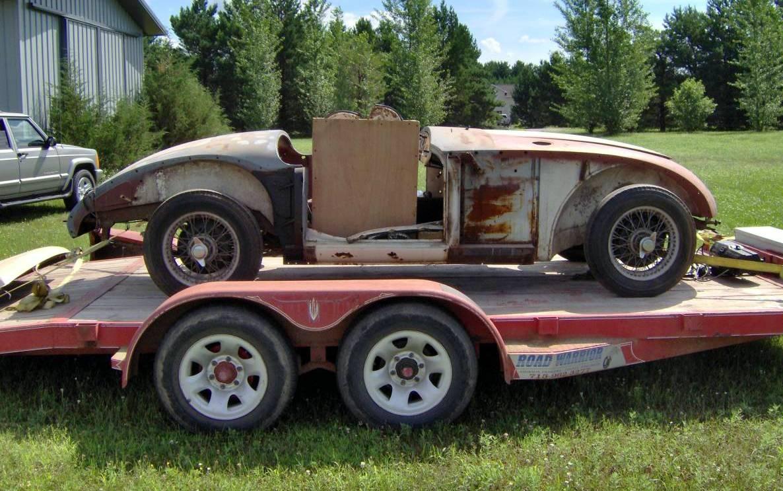 Cheap 1958 MGA Roadster Project