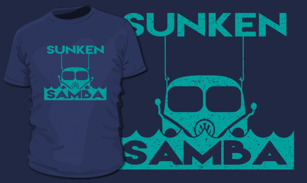 Get Your Sunken Samba T-Shirt!
