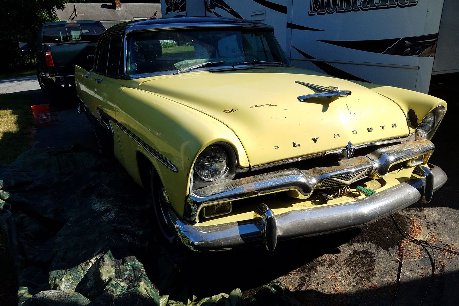 Sitting 12 Years 1956 Plymouth Belvedere
