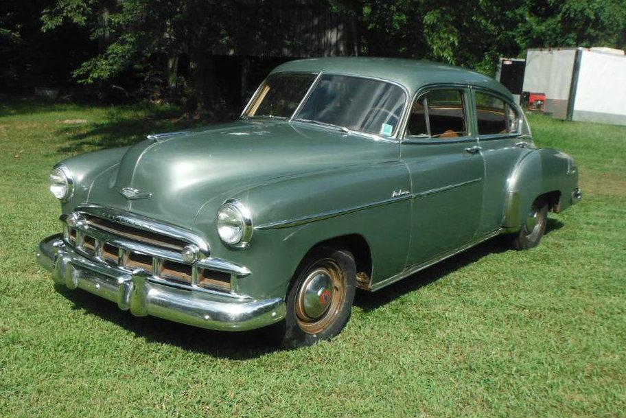 Shed find 1949 chevrolet fleetline deluxe for 1949 chevy fleetline deluxe 4 door