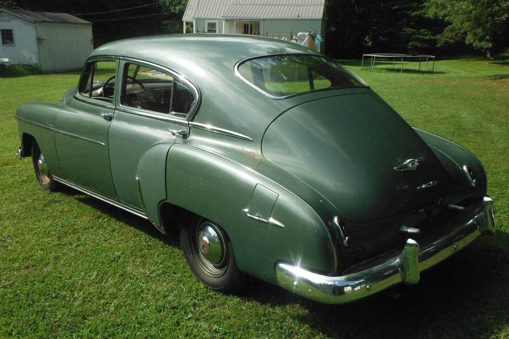 Shed find 1949 chevrolet fleetline deluxe for 1949 chevy fleetline 2 door for sale