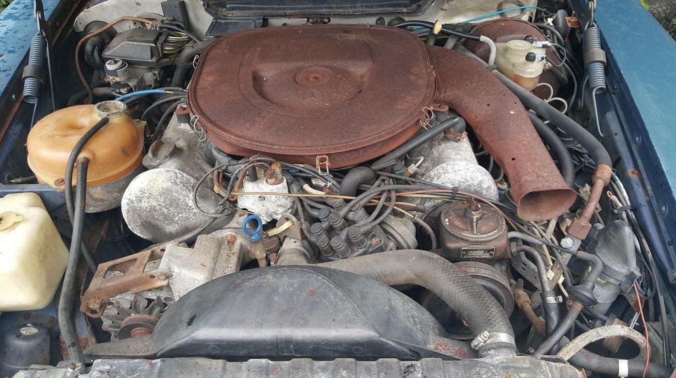 Mercedes 450 Slc Engine Diagram Books Of Wiring Benz Seller Unaware 1978 450slc Rh Barnfinds Com