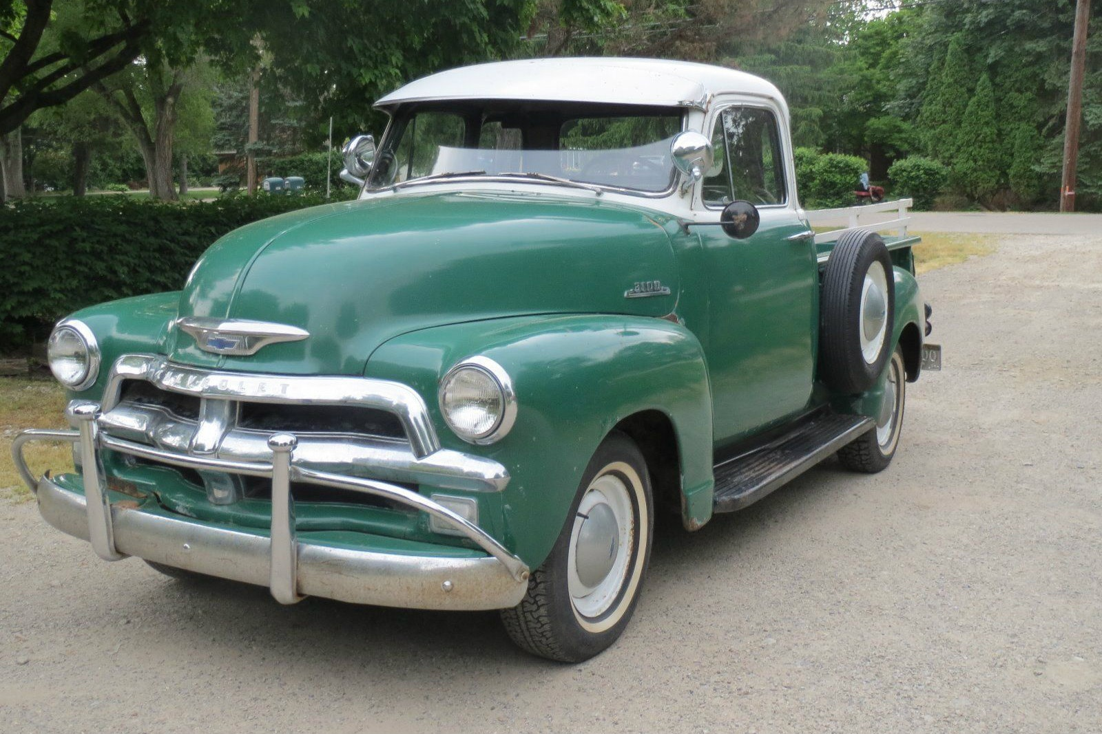 1954 Chevrolet Two Tone Truck Chevy Bed