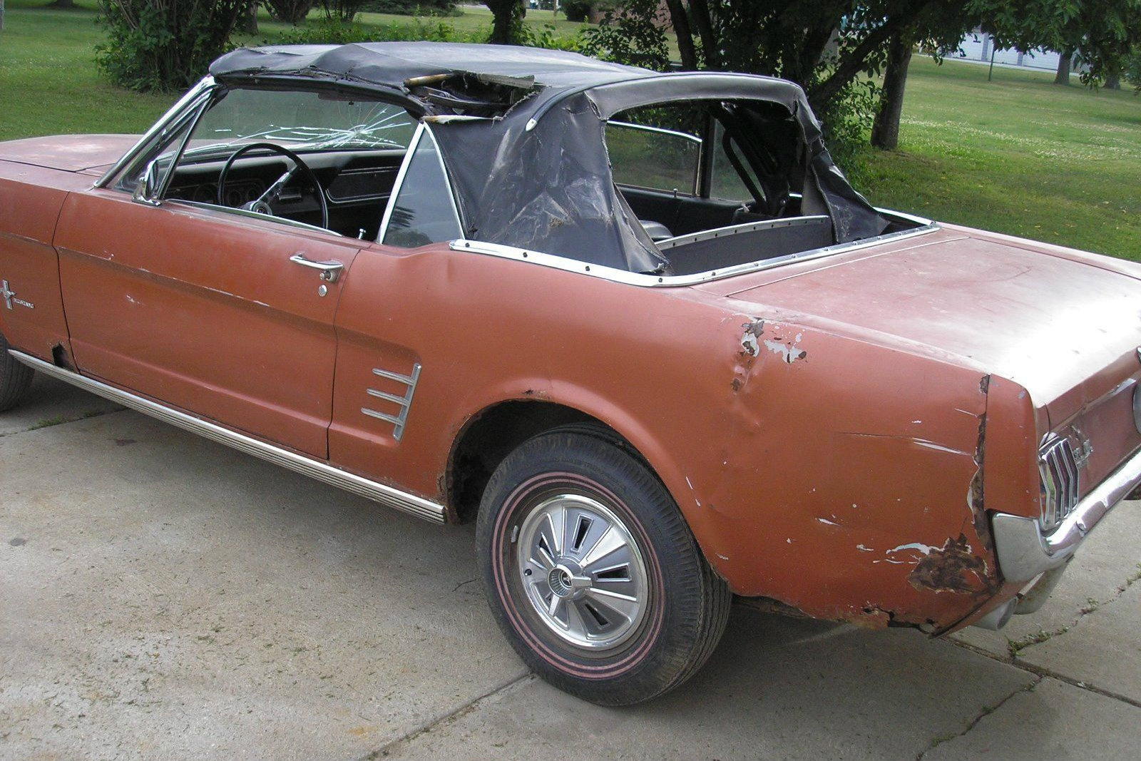 Two Sided Pony: 1966 Mustang Convertible